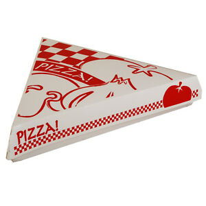 Triangle Gourmet Pizza Box White 9 25 L X 9 W X 1 687 D Paperboard 400 pack
