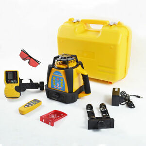 Self leveling Rotary Rotating Laser Level 500m Range Top Quality