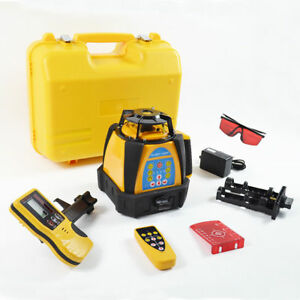 New Self leveling Rotary Rotating Laser Level 500m Range High Accuracy Top