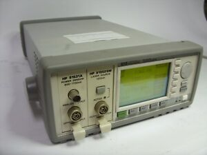 Hp Agilent 8163a Lightwave Multimeter 81531a 81552sm sold As Is