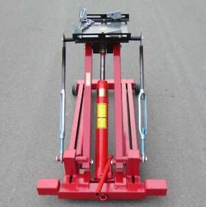 Free Shipping Low Profile Hydraulic Transmission Jack Lift 2 Ton 4400lbs