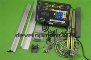 New Digital Readout Dro Kit Display Meter For Milling Lathe Machine Linear Scale