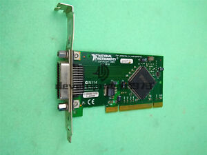 Used Ni Pci gpib Small Daq Card National Instruments Tested