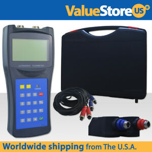 Ultrasonic Flowmeter Usf 100 For Pipe Size From 2 To 27 Inches Or 50 To 700 Mm