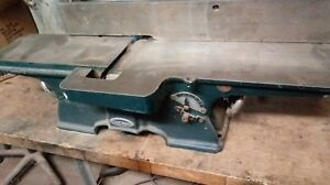 Six Inch Woodworking Jointer Vintage Craftsman Old School Cast Iron Updated Moto