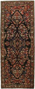 Fascinating Great Shape Runner Rare Lilian Persian Rug Oriental Area Carpet 4x10