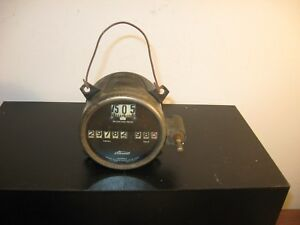 Vintage Antique Stewart Warner Speedometer P 13587