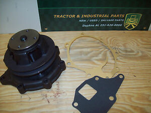 Ford Tractor Loader Water Pump With Gaskets 340 445 540a 535 340b More
