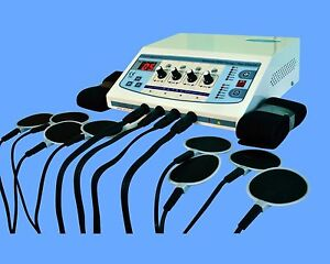 Good Professional Electrotherapy Physical Therapy Machine 4 Channel Unit Dvv