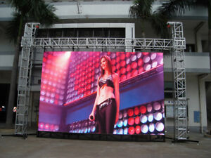 Commercial Outdoor Hd Video Billboard 151 x83 P6 Led Display Linsn Free Shippin