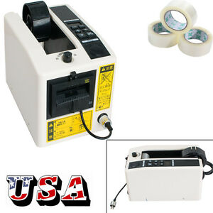 Automatic Tape Dispensers Adhesive Tape Cutter Packaging Machine 3 Digit Led 18w