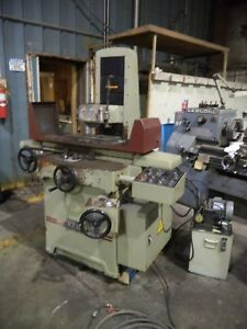 Kent Model Kgs 250 ahd 8 X 18 Automatic Surface Grinder W incremental Downfeed