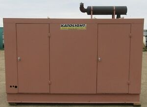 85kw Katolight Gm Natural Gas Or Propane Generator Genset Load Bank Tested