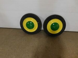 John Deere L La M Tractor Front Wheels With Caps L607t 11598