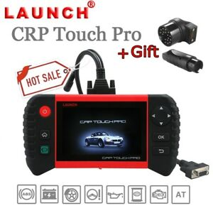Launch Crp Touch Pro Obd2 Auto Diagnostic Code Scanner Tool benz Bmw Adapters