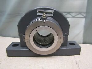 Cooper 01ebcp300 Exat 3 Pillow Block Split Roller Bearing 3 Bore 3 65 Mount