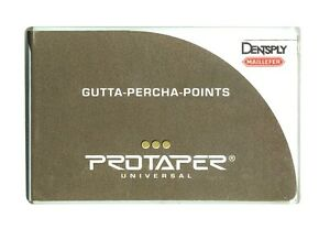 Dentsply Protaper Univeral Obturation Gutta Percha Point Lot 4 F1 2 F2 2 F3