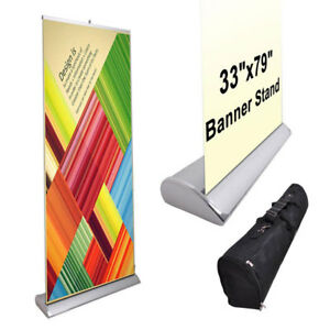 33 X 79 Luxury Rollup Retractable Banner Stand 27690