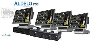 Aldelo Pos Pro Completly Advanced Steakhouse Windows 10 Computer Pos System New