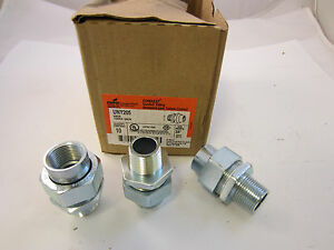 Crouse Hinds Uny205 Explosion Proof Union 3 4 Male female Threads