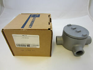 Oz gedney Guat75 3 4 Explosion Proof Type Gua Outlet Box Grt75 Guat26