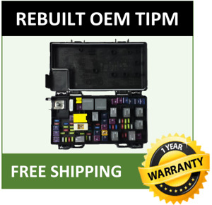 2012 Dodge Ram 1500 Tipm Fuse Box Integrated Power Module Oem 68089323af