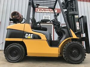 Caterpillar P6000 lp Pneumatic 6000lb Forklift Lifttruck