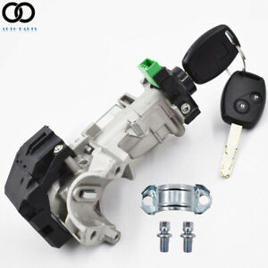 New Ignition Switch Cylinder Lock Auto Trans 2 Key Fit For 06 11 Honda Civic Usa