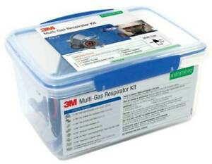 3m Multi gas Respirator Starter Kit 6000 Series Half Face 6259 A1b1e1k1p2