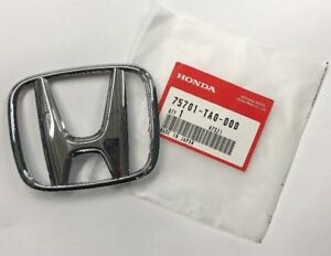 Genuine Oem Honda Accord 2dr Coupe 4dr Sedan Rear h Emblem 2008 2012