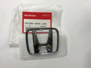 Oem 99 00 Honda Civic Si Ex Dx Cx Front Bumper H Emblem Badge S04 J00