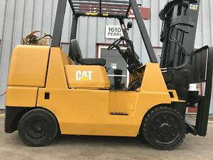Caterpillar Gc40k Cushion 8000lb Forklift Lifttruck
