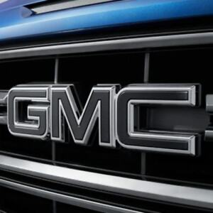 2015 18 Gmc Sierra 1500 2500hd 3500hd Front Rear Gmc Emblem Black 84395038
