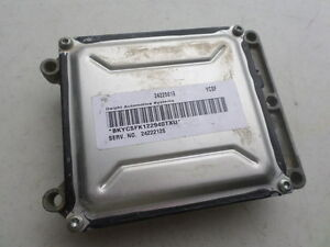03 05 Saturn Vue Tcu 24222126 Transmission Computer Unit 24225819