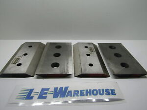 4 Brush Chipper Knives oem Brush Bandits 900 9902 00