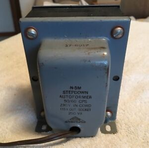 Used Magnetek Triad N 5 M Step Down Autoformer 230v 115v
