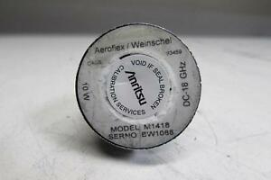 Aeroflex Weinschel M1418 Dc 18 Ghz 10w Medium Power Coaxial Termination
