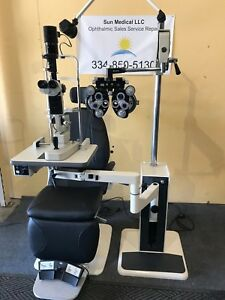 Reliance Examination Chair Instrument Stand Phoropter Slit Lamp Ophthalmic Lane