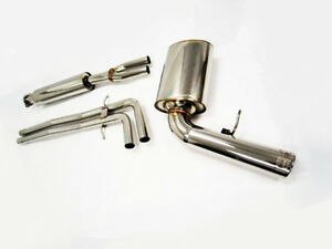 Obx Catback Exhaust For 2001 To 2007 Volvo V70 2 3t 2 4t 2 5t 2wd