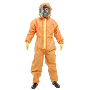 3m 4690 Protective Coverall Chemical Liquid Nuclear Radiation Protection Suit Yt