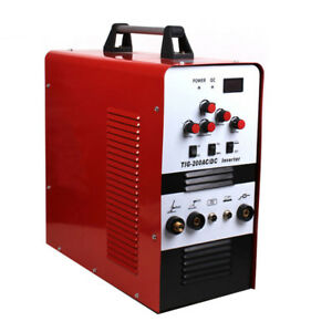 Glf 220v Ac Dc Inverter Tig Mma Welding Machine Soldering Cutter Welder Portable
