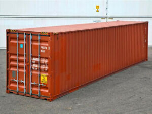 40ft 8 6 High Shipping Container In Cargo worthy Condition Detroit Michigan
