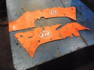 1958 Allis Chalmers D17 Gas Farm Tractor Side Panels