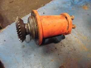 1958 Allis Chalmers D17 Gas Farm Tractor Belt Pulley Drive Hub
