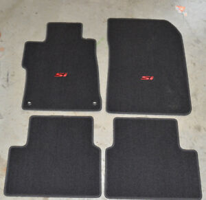 New Genuine Oem 2014 2015 Honda Civic Si Floor Mat Set 83600 tr7 a21za 4 Door