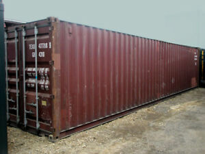 40ft 8 6 High Shipping Container In Cargo worthy Condition Newark New Jersey