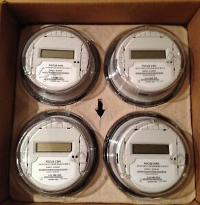 New Landis Gyr Electric Kilo Watt hour Meter kwh Single phase 240v Case Of 4