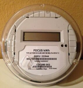 New Landis Gyr Electric Kilo Watt hour Meter kwh Single phase 240 Volt