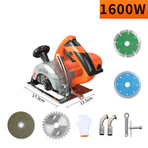 Electric Wood Stone Slotting Machine Metal Tile Cutting Machine 1600w 220v Y