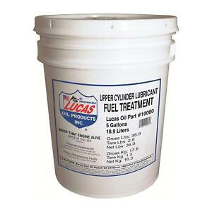 Lucas Oil 10080 Cylinder Lubricant Fuel Treatment 5 Gallons